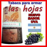 Tabaco Las Hojas Nuevo Sabor Uva Origen Argentina