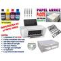 Kit Completo Impressora Adaptada P/ Papel Arroz (nova)