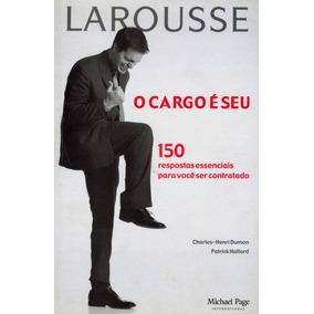 Livro O Cargo É Seu Editora Administração + Dvd Brinde
