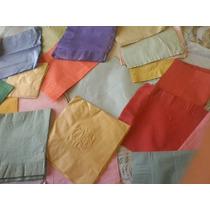 Antiguas Servilletas Papel Suave Varios Colores Lote X 35