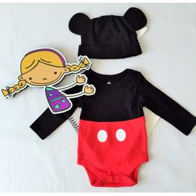 Disfraz (body+gorro) Mickey Mouse Disney