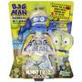 Muñeco Apreta Mocos Bag Man Cabezas Intercambiables Slimy