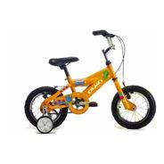 Bicicleta Nene Rodado 12 Olmo Cosmo Pets Naranj- Racer Bikes