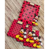Portaretratos Souvenirs Mickey Mouse 13x18 C/vidrio X10