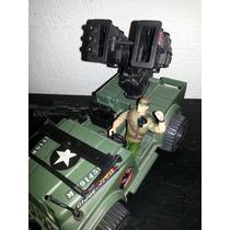 Jeep Lanzamisiles G.i.joe + Sargento Savage!