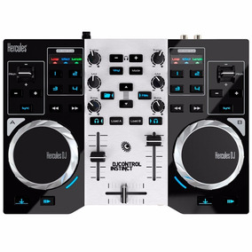 Controladora Hercules Dj Instinct S Series Party Pack + Nf