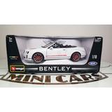 Bentley Continental Supersports Isr Blanco 1/18 Bburago