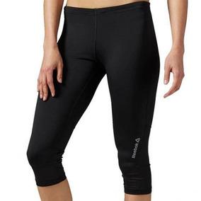 Leggins Malla Deportiva Capri Essential Mujer Reebok S94315