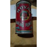 Lata Antigua De Polvo De Hornear «royal».contiene Producto.