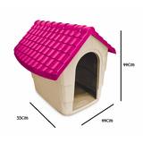 Casa Cama Perro Plast Pet Modelo New House No.1 Rosa