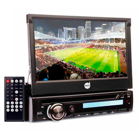 Dvd Player Automotivo Retrátil 7 Usb Tv Digital Bluetooth