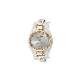 Versus By Versace Mujeres `` Roslyn` Cuarzo Reloj De Acero