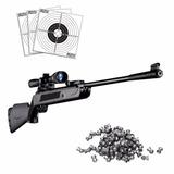 Rifle Aire Comprimido Lb600 +mira+500 Balines+envío Gratis