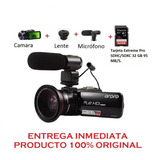 Video Camara Semi Profesional Ordro Z82 Entrega Inmediata