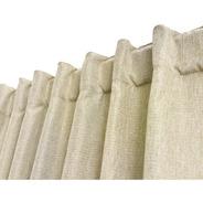 Cortinas Blackout Textil Lino Presillas Ocultas 140x220 Envi