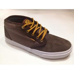 Zapatilla Skate ** Vairo ** Mod. Hardflip Mid Brown
