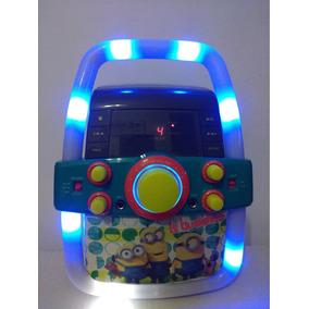 Karaoke Completo Minions Con Luces Intermitentes