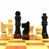 Ajedrez Damas Y Backgammon, 3 Juegos En 1 Tablero Madera