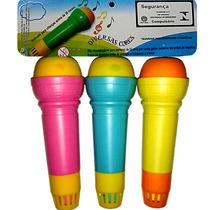 Microfone Eco Infantil Não Usa Pilhas Inmetro