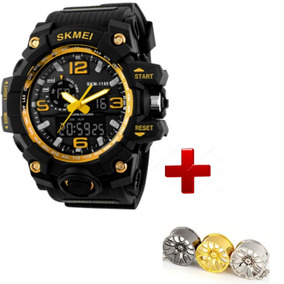 Relógios A Prova D´água Relógio Masculino Skmei 1155+ Brinde