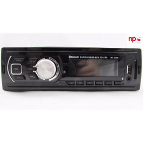 Radio Carro Som Bluetooth Mp3 Player Usb Sd N Dvd Aircross