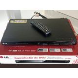 Reproductor Dvd Lg Modelo Dv440 Impecable Sin Funcionar