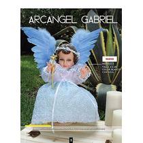 Ropa Niño Dios Arcangel Gabriel 15cm Dia Calendaria Tamales