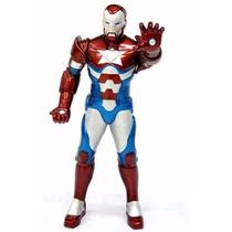 Boneco Homem De Ferro Patriota Premium 55cm Gigante Promoção