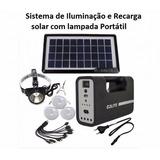 Kit Solar Compacto - Carregue Seus Aparelhos C Energia Solar