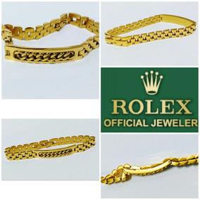 Esclava Rolex Rey Midas Oro Laminad 24k Envio Gratis Subasta