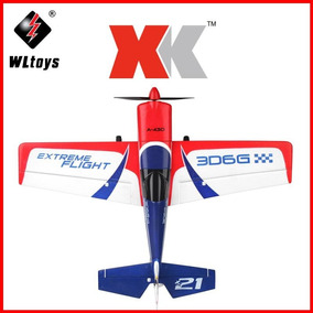 Avión Rc Brushless 5ch Completo Xk A430 Edge + Bateria Extra