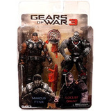 Neca Gears Of War 3 Figura De Acción Exclusiva 2pack Marcus