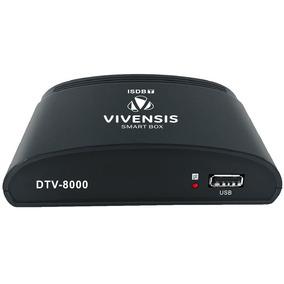 Conversor E Gravador Digital Vivensis - Dtv 8000