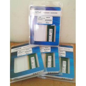 Memoria Ram Crucial 8gb (2 X 4gb) Ddr3 1600mhz