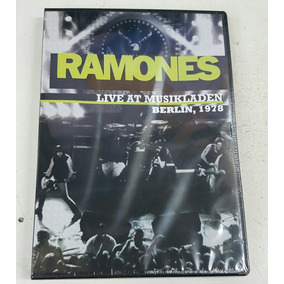 Dvd Ramones Live At Musikladen Berlin 1978 Nuevo Original
