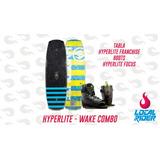 Tabla Wakeboard Hyperlite Franchise + Focus