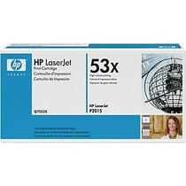 Toner Laserjet Mono Hp Q7553xb Hp 53x Preto P2015