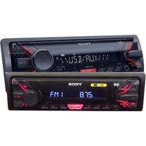Aparelho De Som Sony Dsx-a100 Usb Radio Am Fm Auxiliar Rca