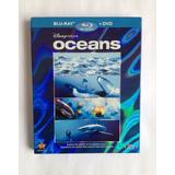 Blu-ray + Dvd Oceans ( Sem Áudio E Sem Legenda Em Português)