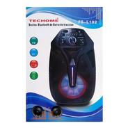 Bocina Bluetooth Carro Fs-l102 6hr Fm Usb Rca 3.5 Recargable