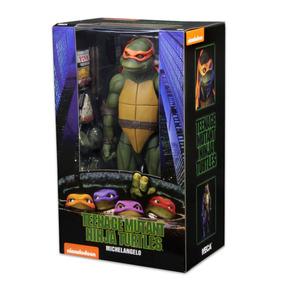 Tartarugas Ninjas Michelangelo Esc 1/4 43 Cm Neca Colecao 17