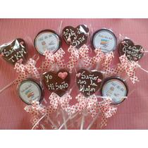 Paletas Chocolate Dia Del Maestro Madre Padre Enamorados