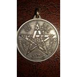 Ritual Con Medalla Tetragrammatón Pentagrama Tetragramaton