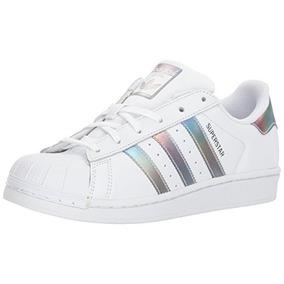 online store ac110 68d88 Zapatillas adidas Originals Superstar J, Blanco   Dorado Me
