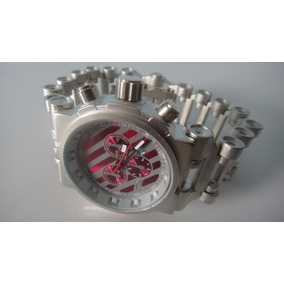 Relógio Masculino Hollow Point + Brinde