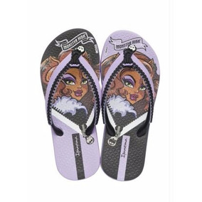Chinelo Infantil Monster High Lilás Ipanema