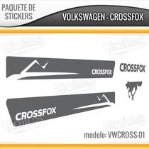 Paquetes De Calcomanias Stickers Crossfox, Vw, Volkswagen