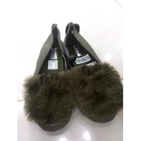 Zapatos Moda De Pompones Tipo Vans Damas Y Niñas Calzado