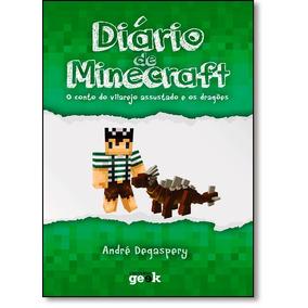 Diário De Minecraft: O Conto Do Vilarejo Assustado E Os Dra
