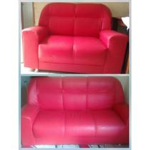 Sofa Vermelho Semi Novo